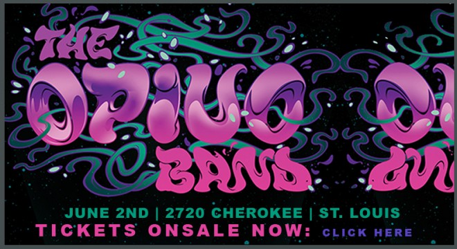 Opiuo Live Band performs LIVE in St. Louis at 2720 Cherokee