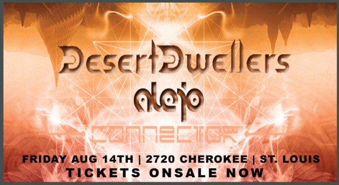 DESERT DWELLERS LIVE IN ST. LOUIS, MO AT 2720 CHEROKEE ON FRIDAY, AUG 14TH 2015